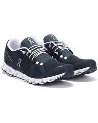 On Running Cloud Marineblaue Sneakers