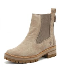 Timberland Graue Courmayeur Valley Chelsea Stiefel