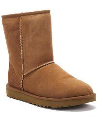 UGG Classic Ll Short Sheepskin Boots - Black