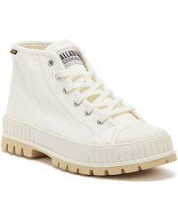 Palladium Pallashock Mid Boot - White