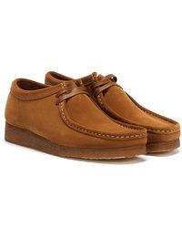 Clarks Wallabee Brown/cola