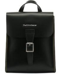 Dr. Martens - Dr. Martens Black Kiev Leather Mini Backpack - Lyst