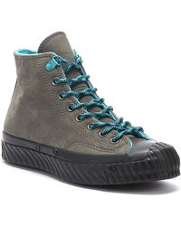 Converse Chuck 70 Bosey Water Repellent Mens Carbon Grey Hi Sneakers