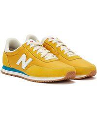 New Balance 720 Senf / Blau Sneakers - Gelb