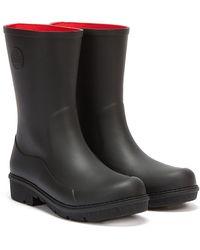 Fitflop Wonderwelly Short Boots - Black