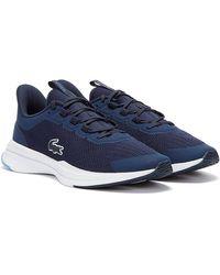 Lacoste Run Spin 0721 1 Baskets Bleu marine / Bleu Pour