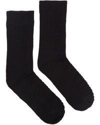 Dr. Martens Dr. Martens Double Doc Cotton Blend Socks - Black