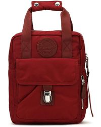 Dr. Martens - Dr. Martens Cherry Red Flight Small Backpack - Lyst