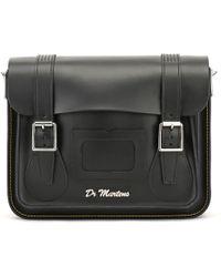 Dr. Martens - Dr. Martens Black Kiev Leather Satchel - 11-inch - Lyst