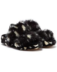 UGG Oh Yeah Spots Slippers - Black