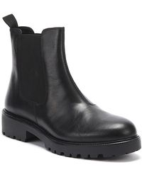 Vagabond Kenova Womens Black Leather Chelsea Boots