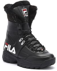 Fila Disruptor Womens Black Boots