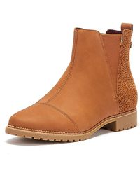 TOMS Cleo Brown Boots