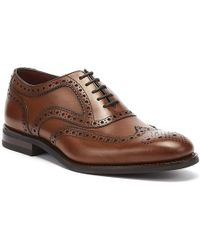 Loake Kerridge Mens Cedar Brogue Shoes - Brown