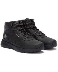 Timberland Field Trekker Tec Tuff Mid Mens Black Boots