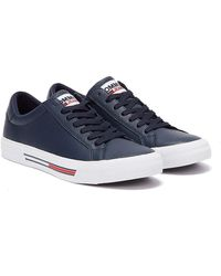 Tommy Hilfiger Tommy Jeans Essential Low Top Mens Navy Sneakers - Blue