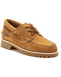 Sebago Acadia Mens Tan Suede Shoes - Brown