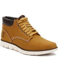Timberland S Mens Wheat Bradstreet Chukka Boots - Yellow