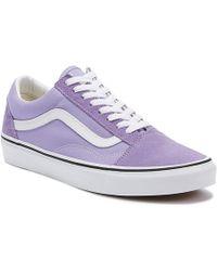 Vans Old Skool Womens Violet Tulip Trainers - Purple