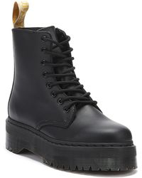 Dr. Martens Dr. Martens Jadon Ii Vegan Womens Black Mono Boots