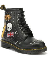 Dr. Martens Dr. Martens 1460 Rockabilly Black Boots