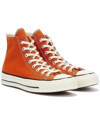 Converse Chuck 70 High Top Orange Turnschuhe