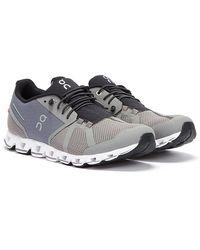 On Running Cloud Grau / Weiss Sneakers