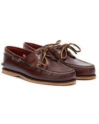 Timberland 21 Dunkelrot Braune Boots Schuhe