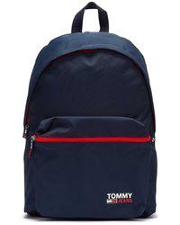 Tommy Hilfiger Tommy Jeans Campus Navy Rucksack Für - Blau
