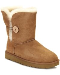 UGG Bailey Button Ii Chestnut Twinface Boot - Brown