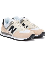 New Balance 574 Rosewater / Black Sneakers - Multicolor