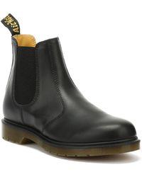 Dr. Martens Dr. Martens 2976 Womens Black Leather Chelsea Boots