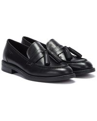 Vagabond Amina Womens Black Leather Loafers
