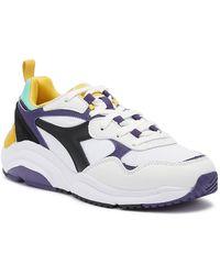 Diadora Whizz Run / Purple Sneakers - White