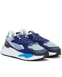 PUMA Rs-z White / Trainers - Blue