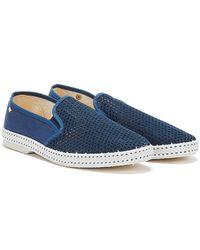 Rivieras Classic 20 Mens Dark Blue Shoes