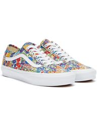 Vans X Liberty Old Skool Tapered Floral Baskets Jaune / Multi Pour
