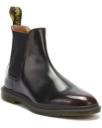 Dr. Martens Dr. Martens Graeme Ii Arcadia Mens Cherry Red Boots