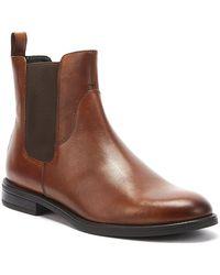 Vagabond Amina Womens Cognac Brown Leather Boots
