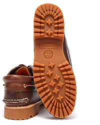 Timberland Traditional 3 Eye Classic Boat Shoes - Brown