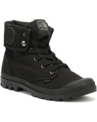 Palladium Baggy Mens Black Boots
