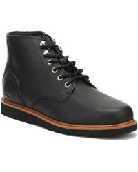 Timberland - Mens Jet Black Newmarket Chukka Boots Men's Mid Boots In Black - Lyst