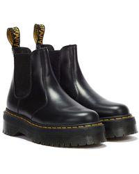 Dr. Martens Dr. Martens 2976 Quad Smooth Boots - Black