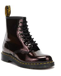 Dr. Martens 1460 8-eye Sparkle Boots - Purple