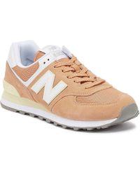 New Balance 574 Trainer - Orange