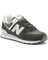 New Balance 574 Womens Green / Blue Trainers