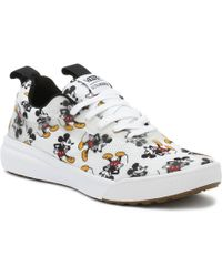Vans - Disney Ultrarange Rapidweld Mickey Mouse White Trainers - Lyst