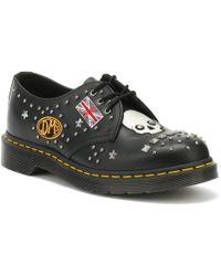 Dr. Martens Dr. Martens 1461 Rockabilly Black Shoes