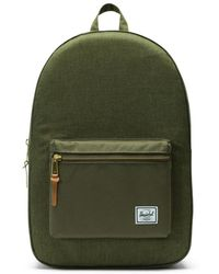 Herschel Supply Co. Settlement Olive Night Backpack - Green