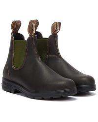 Blundstone Originals Unisex / Green Boots - Brown